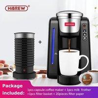 Máquina de café HibrEw Brewer K-Cup; CAPA DE CUBIO CUBIERTE KCUP CON FROTHERA DE LECHE1