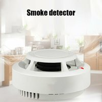 عالية الحساسية للكشف عن الدخان كاشف الدخان الكهروضوئية اللاسلكية للاستخدام المنزلي نظام إنذار النار إنذار الدخان