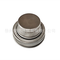 70mm Kaliber Mason Jar Deckel Silikon Dichtungsstecker Wine Dekanter Cover 304 Edelstahl Shaker Deckel Normal Mund Rust Proof Neue 4 6YT M2