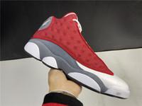 새로운 남자 13s 농구 신발 13 붉은 부싯돌 디자이너 럭셔리 트레이너 신발 스포츠 최고 품질 스니커즈 상자