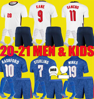 2021 2022 Inglaterra Fútbol de fútbol Jerseys Home Weew Kane Sterling Rashford 22 22 Sancho Henderson Barkley Maguire Camisa Nacional Men + Kit Kit Sets Socks Uniformes
