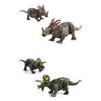 360 градусов вращения динозавра разборки DIY строительные блоки игрушечные детские образовательные ассамблеи