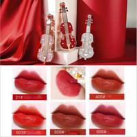 Make-up-Flüssigkeit Lippenstift Violine weiche Nebel Samt Lippe Glasur matt lang anhaltende wasserdichtes Lippenstiftes 3,5 ml