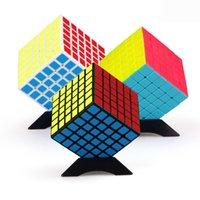 Qiyi Qifan6s 6.75mm ماجيك مكعب 6x6x6 سرعة لعبة Speedcube المهنة لغز 6x6 مكعبات الأطفال من مكعبات الأولاد التعليم اللعب Y200428