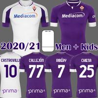 2020 2021 Fiorentina Soccer Jerseys Ribery Callejon Prince Pezzella Chiesa 20 21 Fiorentina Camicie da calcio Vlahovic Maillot de Piede