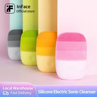 BAŞKA Yüz Temizlik Fırça Yüz Cilt Bakım Araçları Su Geçirmez Silikon Elektrikli Sonic Temizleyici Yüz Güzellik Masajı 201204