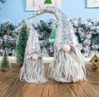 الترتر أفخم دمية حلية السويدية سانتا جنوم دمية عيد الميلاد الديكور مرح عيد الميلاد حزب ديكور اللوازم عيد الميلاد لعبة HH9-3395