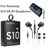 Pour Samsung AKG EO-IG955 écouteurs de 3,5 mm intra-auriculaire avec micro casque filaire pour Galaxy S10 S9 S8
