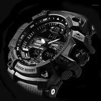 Novo Addies de Marca Relógio de Moda Homens G Estilo À Prova D 'Água Sports Watchne Luxo Analógico Digital Sports Watches Men1