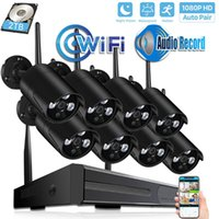 4CH 8CH CCTV System Wireless 1080P H. 265 NVR 2. 0MP Sound rec...