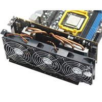 Pads de refroidissement pour ordinateur portable Universal Desktop ordinateur VGA Partenaire de refroidisseur ultra calme Châssis PCI Coolingfan