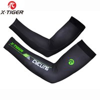 X-TIGER 100% LICRA Quick-Dry UV400 Защита ARM Рукава Рукава Дышащие Баскетбольные арматы Спортивные Велосипедные Оречники