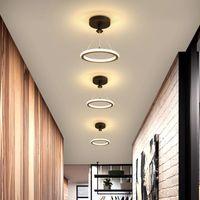 Yeni Tasarım Koridor Odası Koridor Için LED Avizeler Oturma Odası Merdiven Villa Bistro Kapalı Ev Dekoratif Aydınlatma Armatürleri