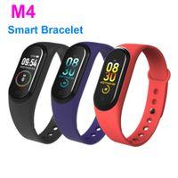 M4 Smart Band Fitness Tracker Watch Sport Bracte Bracte Beart Rate Smart Watch 0,96 дюйма Smartband Monitor Monitor Brintband PK MI Band 4