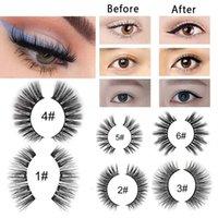Magnetic Liquid Eyeliner&False Eyelashes Longlasting Eye Makeup Tool Set With Tweezers Makeup False Eyelashes Tools