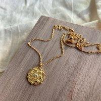Silvologia 925 Sterling Sterling Silver Lotus Flower Pendant Collana Collana design elegante per le donne 2020 gioielli di compleanno regalo del partito LJ201009