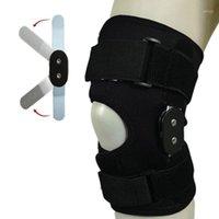 Cotovelo joelho almofadas alumínio liga adulto articulação pad o dobro articulado protetor ergonômico escalada Suporte esportivo ao ar livre ajustável Soft1