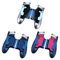 H11 Gaming Controller Tragbare Sechs Finger-Betrieb Gamepad Tablet-Trigger Feuer-Taste AIM Key Mobile Spiel Griff Griff1