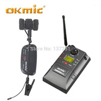 OKMIC OK-8R / OK-17 Professional UHF PLL Instrumento Sistema inalámbrico Micrófono para saxofón inalámbrico Mic Audio 830MHZ-842MHZ1