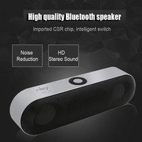 جديد NBY-18 مصغرة بلوتوث المتكلم المحمولة سماعات لاسلكية نظام الصوت 3D ستيريو الموسيقى المحيطية دعم بلوتوث، TF aux USB