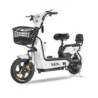 14-дюймовый мини-электрический велосипед 350W мотор 48V 12 / 20A с легкими литиевыми батареями мужчин и женщин велосипед