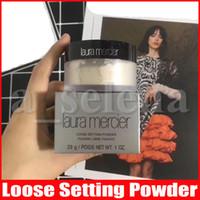 Laura Mercier en vrac Fixateur Poudre imperméable longue durée Hydratante Poudre Maquiagem translucide Maquillage 2 couleurs