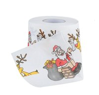Ferramenta Home Santa Claus Banheiro Banheiro Rolo De Papel Natal Suprimentos Xmas Decor Tissue Cute Christmas Print H Jlldnv Outbag2007