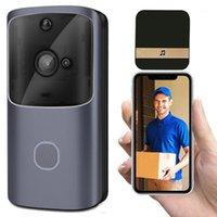 جرس الباب M10 الذكية HD 720P 2.4 جرام لاسلكي واي فاي فيديو جرس الباب الكاميرا المرئية إنترفون للرؤية الليلية IP باب جرس الأمن كاميرا 1