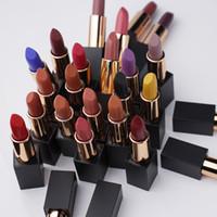 25 Couleur de rouge à lèvres mates durable des lèvres de longue durée Design de haute qualité accepter Personnalisé Longuet Longuet Soft Confortable Fini mat