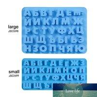 Russisches Alphabet 3D Silikon Schokoladenform Buchstaben Kuchen Dekorieren Werkzeuge Tablett Fondant Formen Gelee Kekse Backform Küche