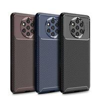 Magro Carbono Casos de fibra de telefone para Nokia 9 Pureview 8,1 C71 X5 X6 X7 Case Capa para Nokia 7,1 3,1 2,1 2,2 3,2 5,1 6,1 Além disso coque Ultra fino