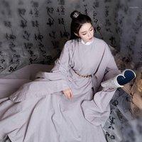 Оригинальные платья Hanfu Round Cold Hee Hee для мужчин Женщины Китайский традиционный Hanfu Костюм народное платье народное платье народное платье SL41701