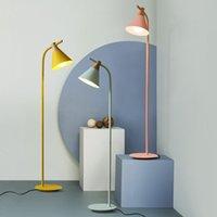 İskandinav minimalist modern yaratıcı zemin ışık yatak odası led döşeme ışık çalışma renk macarons zemin lamba oda otel projesi