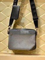 bolsa de ombro homens nova qualidade M69443 Top com saco de alças da caixa Hot venda crossbody saco superior bolsa forma homens messenger carteira gratuito Shipin