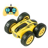 3,7 дюйма RC CAR 2.4G 4CH дрейфовый трюк двухсторонний отказов трюк каракут автомобиль рок гусеничный рулет автомобиль 360 градусов Flip детей робот RC автомобили игрушки