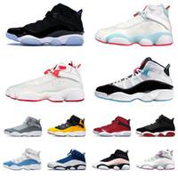 Üst 2021 Jumpman 6 Yüzükler Erkek Kadın Basketbol Ayakkabı UNC Bred Tanımlama Anlar Kraliyet Taksi Serin Gri Concord Erkekler Eğitmenler Sneakers