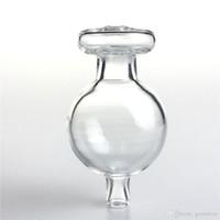 Nuova palla di vetro 30mm tappo di carboidrato daBer con bolle a sfera a sfera e-sigaretta con tappi universali universali per il quarzo Banger