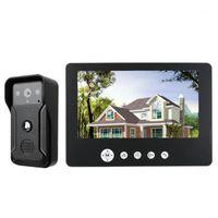 Telefones Do Porta de Vídeo Gamwter Security 9inch tela de cor Home Interphone Doorphone Bell Kits Famílias Acesso Controle de Controle Sistemas1