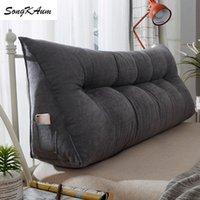 Songkaum lavável travesseiros de cabeceira longa com enchimento de simplicidade moderna almofada única dupla almofada casa tatami para dormir 201215