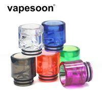 VAPesoon001 Spiral MTL 810 Drip Tip TIP BORE BOLUMONIO ANTI Spit-Back Driptip 810 per Atomizzatore RTA RBA
