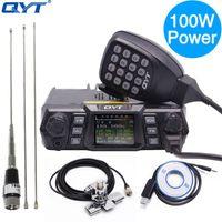 Walkie Talkie QYT KT-780 Artı 100 Watt Güçlü VHF 136-174MHz Mobil Radyo Alıcı-Verici KT780 200Channels Uzun Menzilli Ham Araba