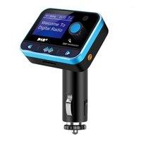 Практический модулятор Auto Music Music FM-передатчик радио Автомобиль Bluetooth беспроводной адаптер DAB Цифровое зарядное устройство USB MP3 проигрыватель Stereo1