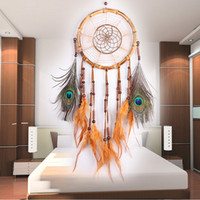 New Dreamcatcher Wind Chimes with Feather Dream Catcher Wall...