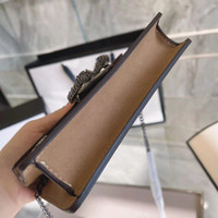 Mode Damen One-Shoulder Messenger Handtasche Münze Geldbörse Armband Tasche Hand Geldbörse Hochwertiges Lederbraun