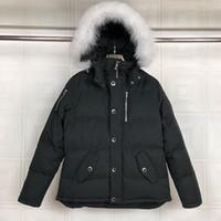 캐주얼 망 무스 다운 재킷 outwear 야외 Doudoune 남자 겨울 코트 파카 캐나다 네클 클로스 따뜻한 clothings s-xxl