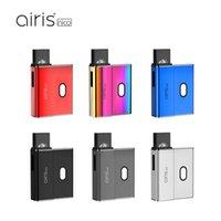 100 % 오리지널 Airis Nico 포드 스타터 키트 450mAh E 담배 가변 전압 Vape POS 시스템 코코 유니버설 카트리지 어댑터