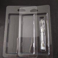 Perakende Ambalaj Plastik Buharlaştırıcı Kapaklı Clam Kabuk Blister Kartuş Ambalajı Çoğu 0.5ml 1.0ml Kalın Yağ Kartuşları