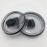 스테인레스 스틸 텀블러 RRA3821에 대한 30온스 20온스 자기 뚜껑 자석 투명 뚜껑 커버 자동차 맥주 머그잔 스플래쉬 유출 증거 커버