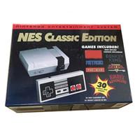 1pcs 클래식 게임 TV HD 비디오 핸드 헬드 콘솔 엔터테인먼트 Wii System Games for Can Store 30 Edition Model NES 미니 게임 콘솔 플레이어
