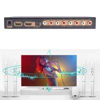 Connecteurs audio Connecteurs DAC LPCM Extracteur optique numérique à analogique 2CH 5.1CH 7.1CH SPDIF RCA Sortie multi-canaux 7.1 Converter1